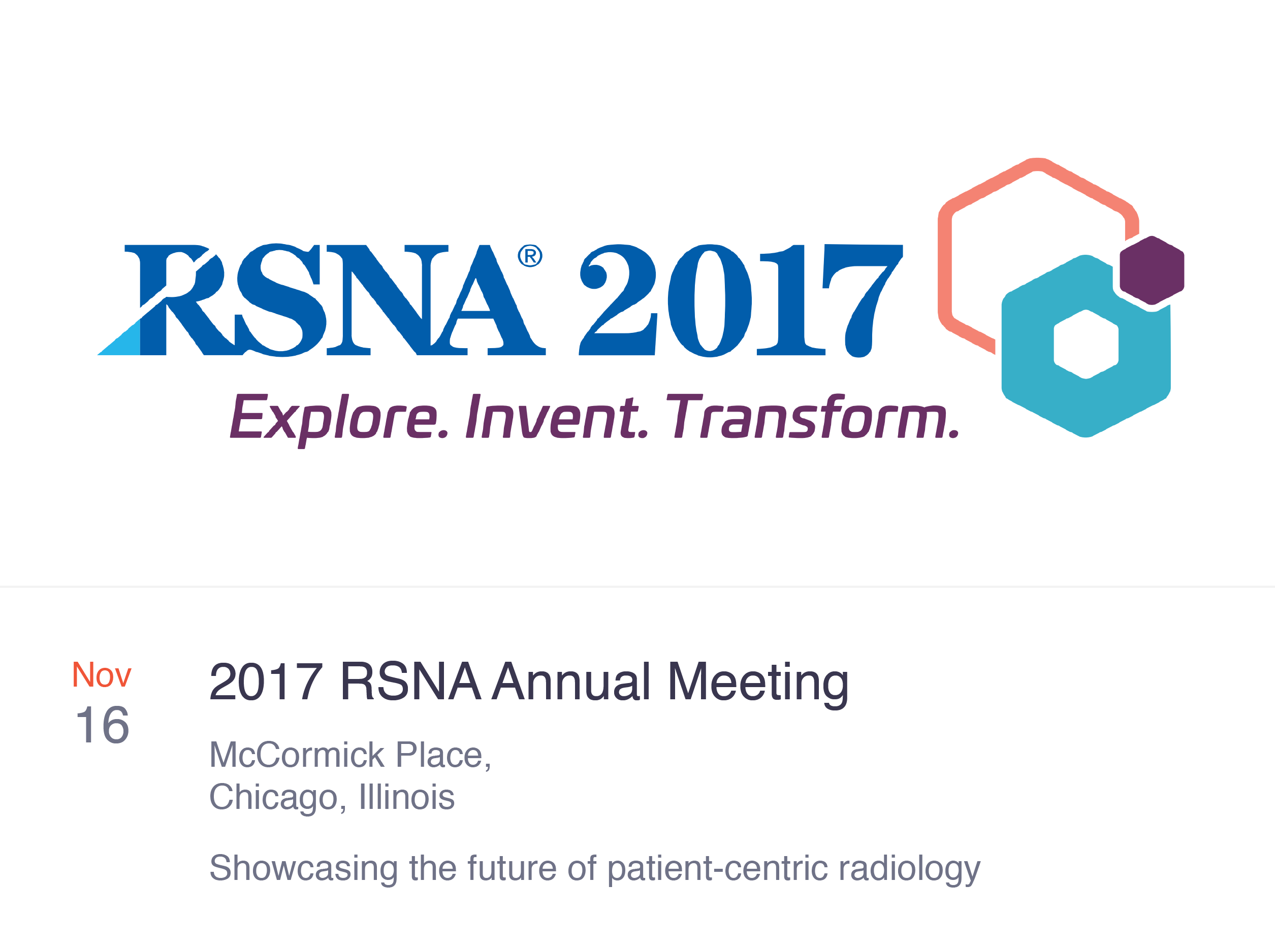 Join PocketHealth at the 2017 RSNA Annual Meeting