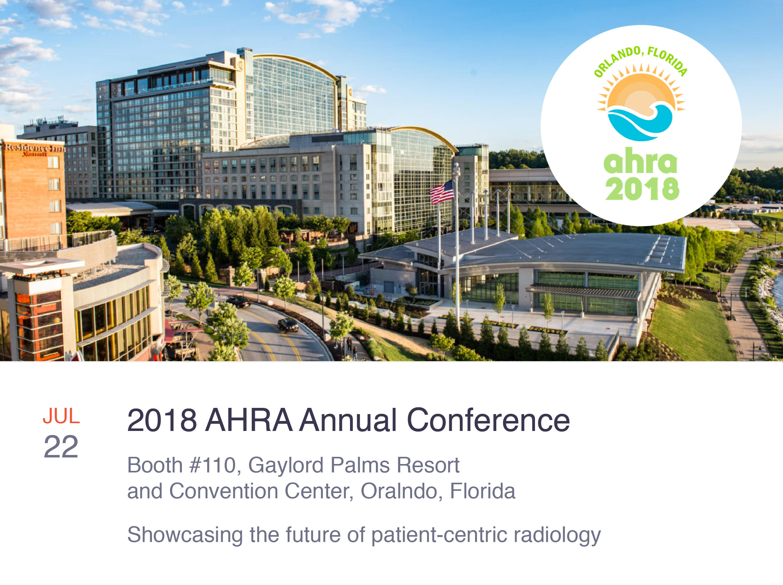 PocketHealth Attending the 2018 AHRA Annual Meeting