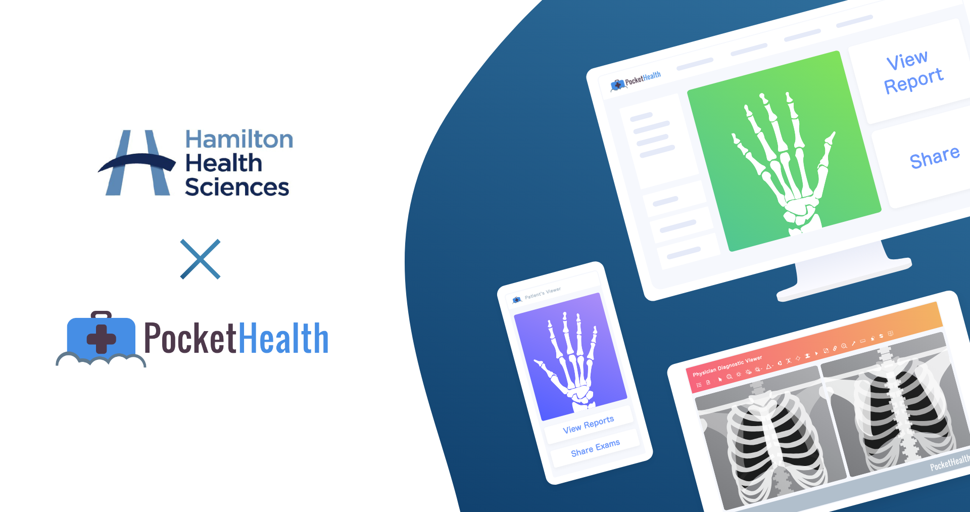 Hamilton Health Sciences Goes Live With PocketHealth, Provides Online Imaging Access for Patients