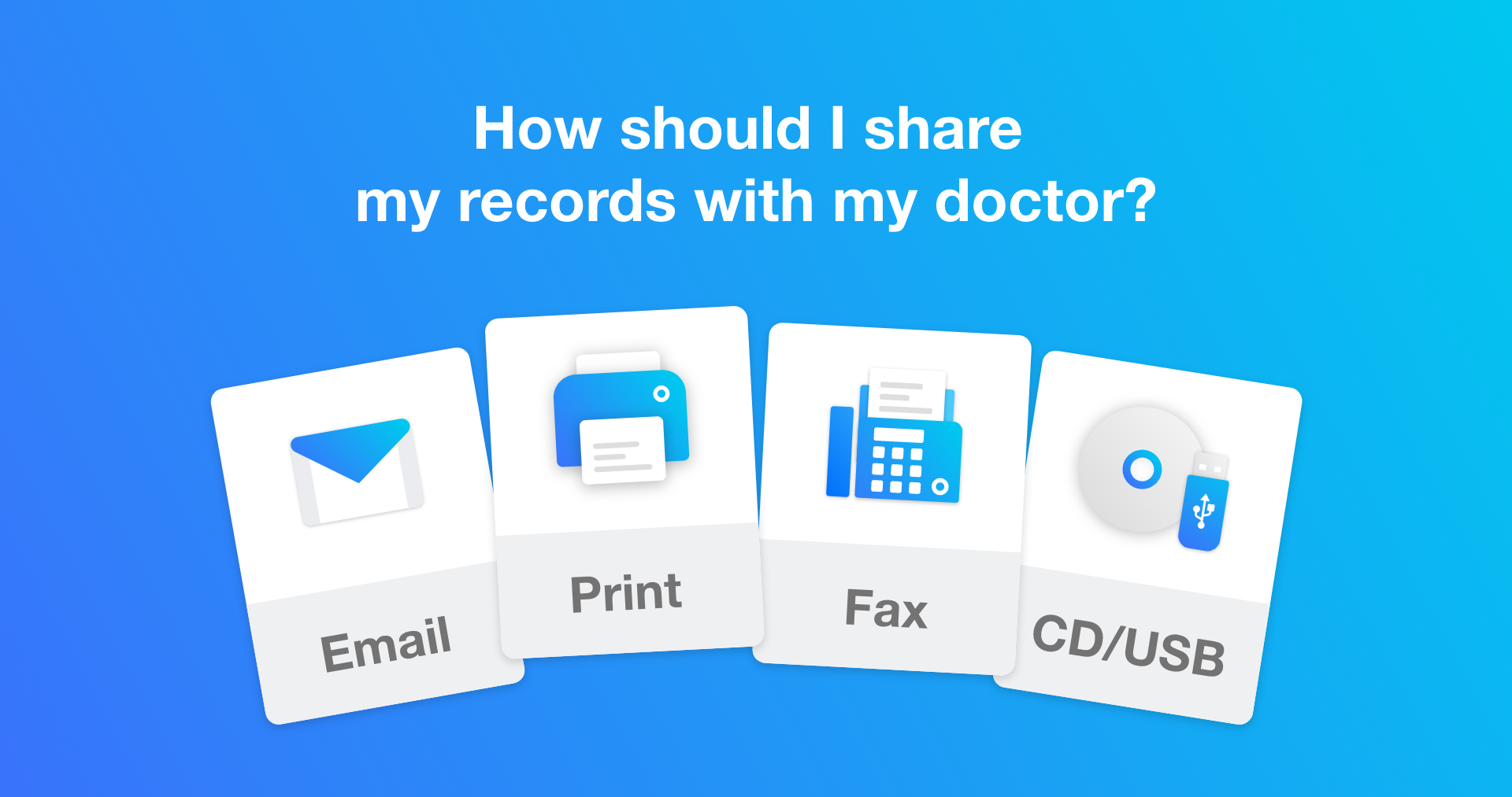 Deciding Which Sharing Option is Best for My Doctor