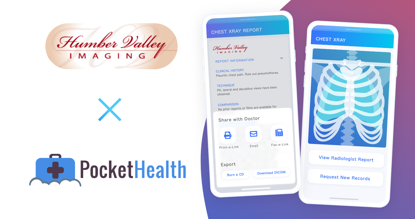 Humber Valley Imaging Deploys PocketHealth Patient Sharing Platform